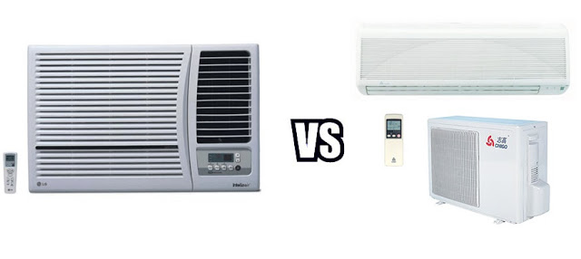 split ac and window ac